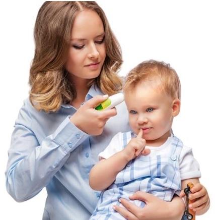 palaviku mõõtmine lapsel, täpne termomeeter